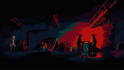 Pulp Adventure Game The Drifter Revealed From Powerhoof, Point And Click Adventure Set To Release On PC And Switch