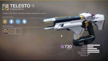Telesto Exotic Disabled By Bungie After Players Are Taking Advantage Of An Exploit