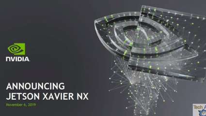 Nvidia Introduces Jetson Xavier NX, American Manufacturer Claims New AI Supercomputer Is World's Smallest, Fastest