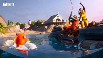 In Fortnite's Fishing Frenzy, Winning A Virtual Fish Can Net You A Physical Trophy