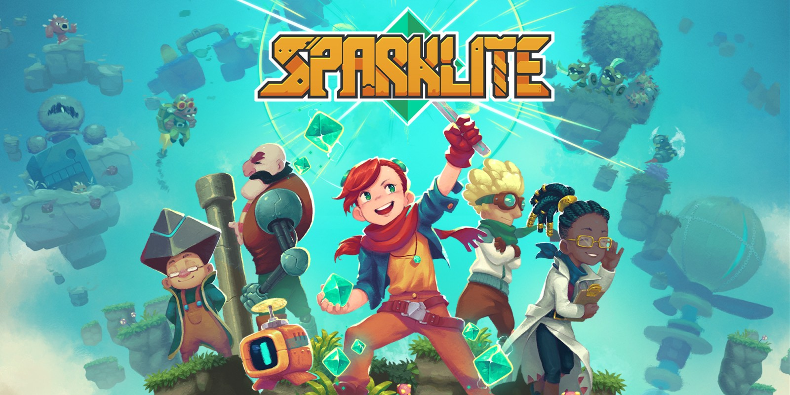 Adventure, Gadgets, And Exploration Abound In Sparklite, Coming To Switch In November