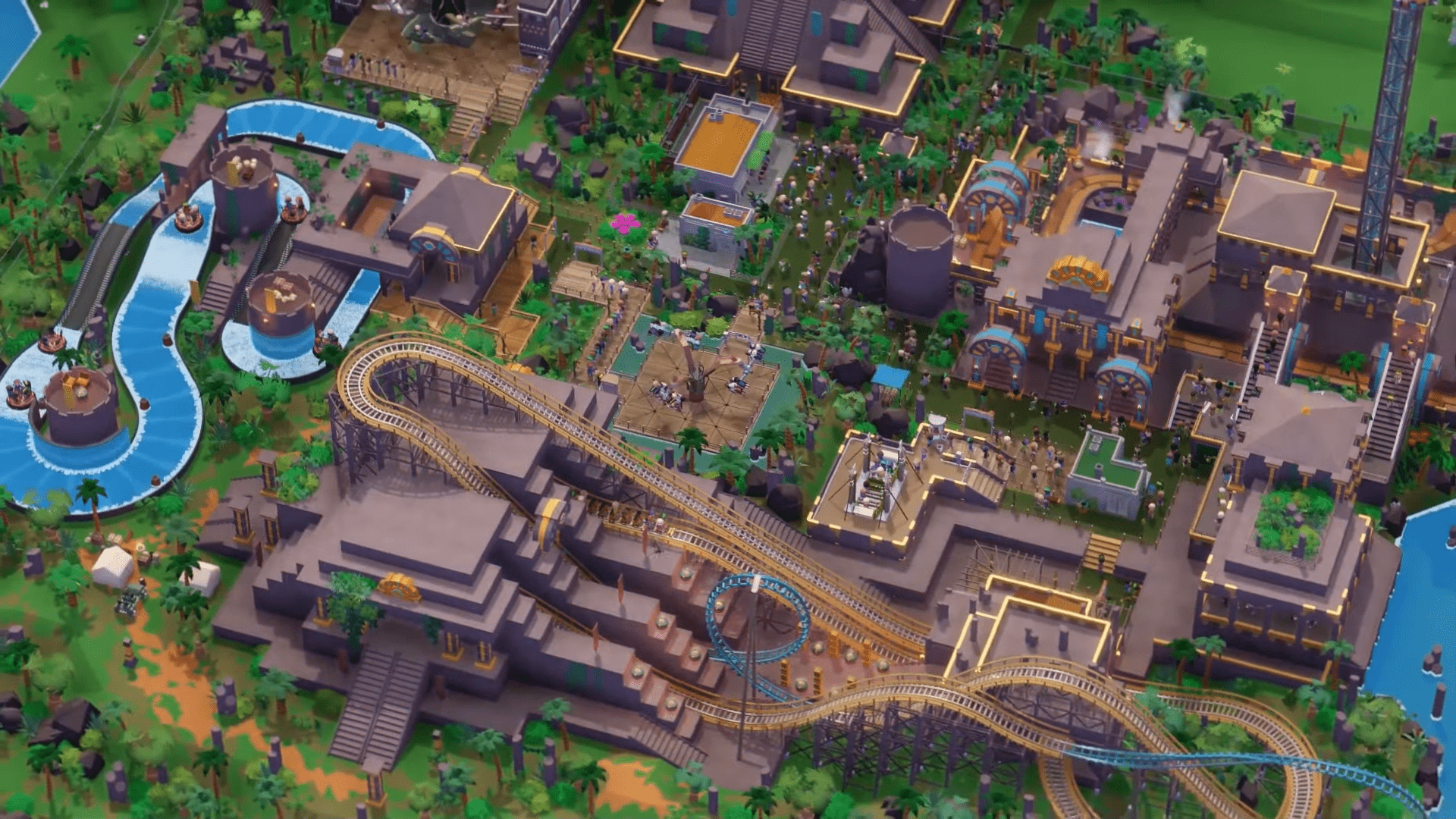 Parkitect Launches Both 1.5 Along With Offering New DLC Called 'Taste of Adventure'