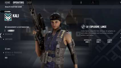 New Attacking Operator, Kali, Joins Rainbow Six: Siege Crew In Operation: Shifting Tides