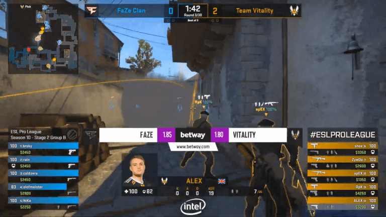 CS:GO Team Vitality Simply Can't Get Anything Done, ZywOo Can't Carry The Entire Team