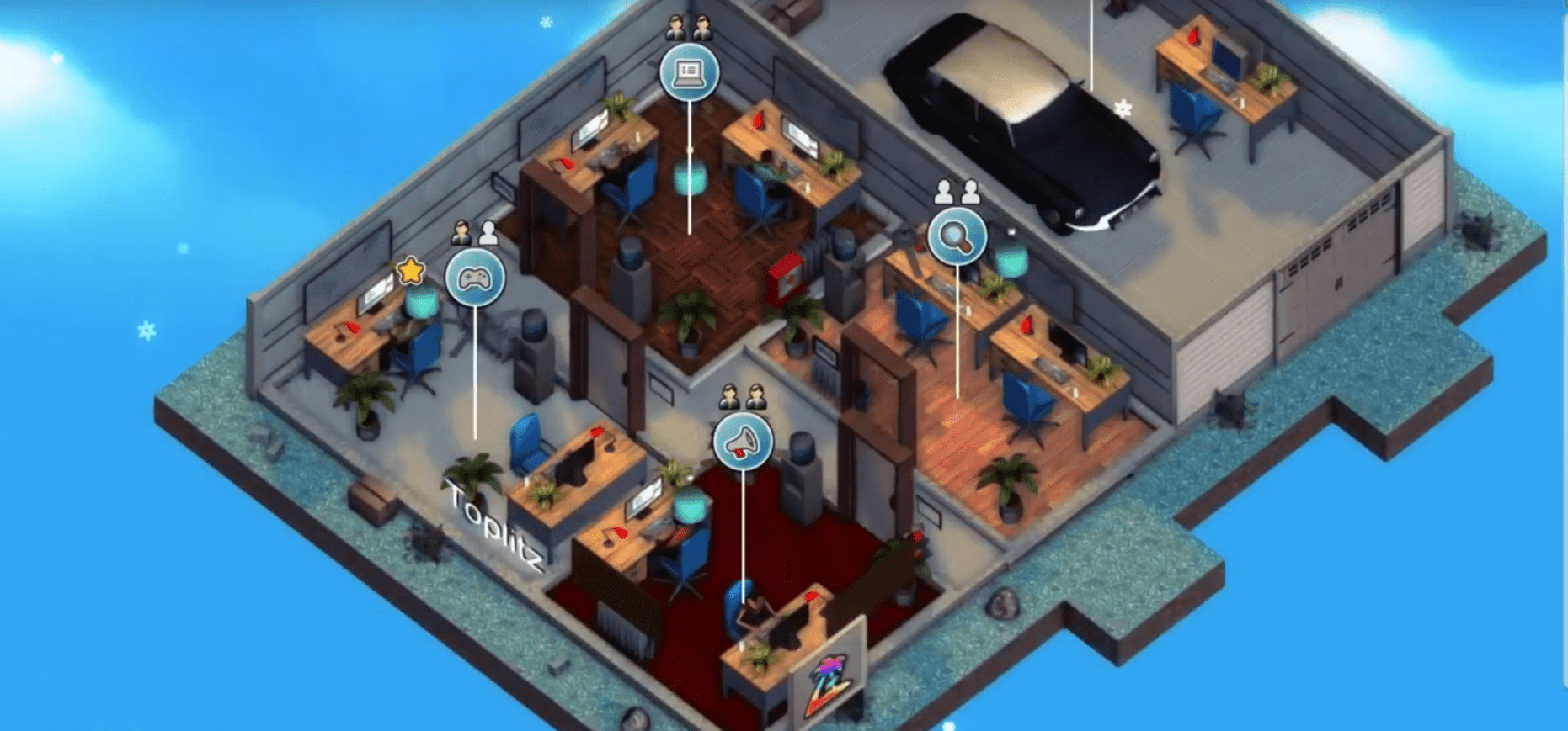 Mad Games Tycoon Allows Players To Build A Gaming Empire, From Humble Beginnings To Having It All