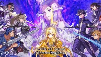 Bandai Namco Releases New Mobile Game Sword Art Online Alicization Rising Steel