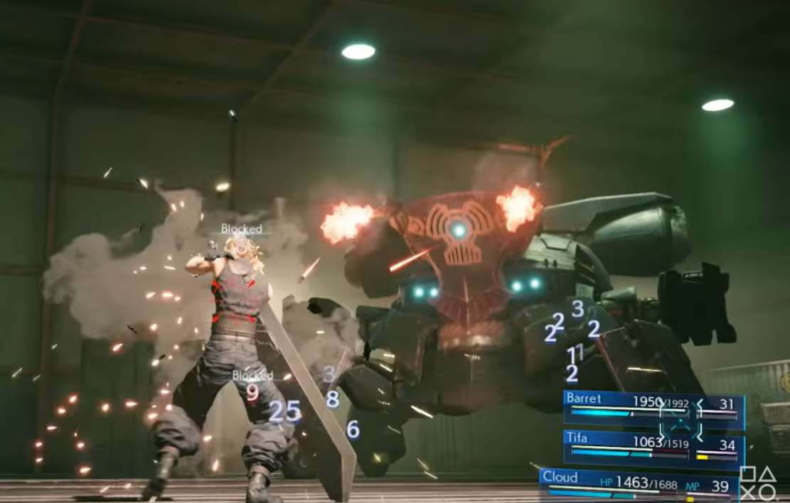 Final Fantasy VII Remake's Limit Break System Demonstrated In Official Tweet From Developers