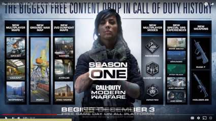 Season One Content Drops Next Week In Call Of Duty: Modern Warfare; Will Be Completely Free