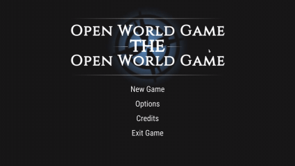 'Open World Game: The Open World Game' Is A Free To Play Open World Game Now Released On Steam