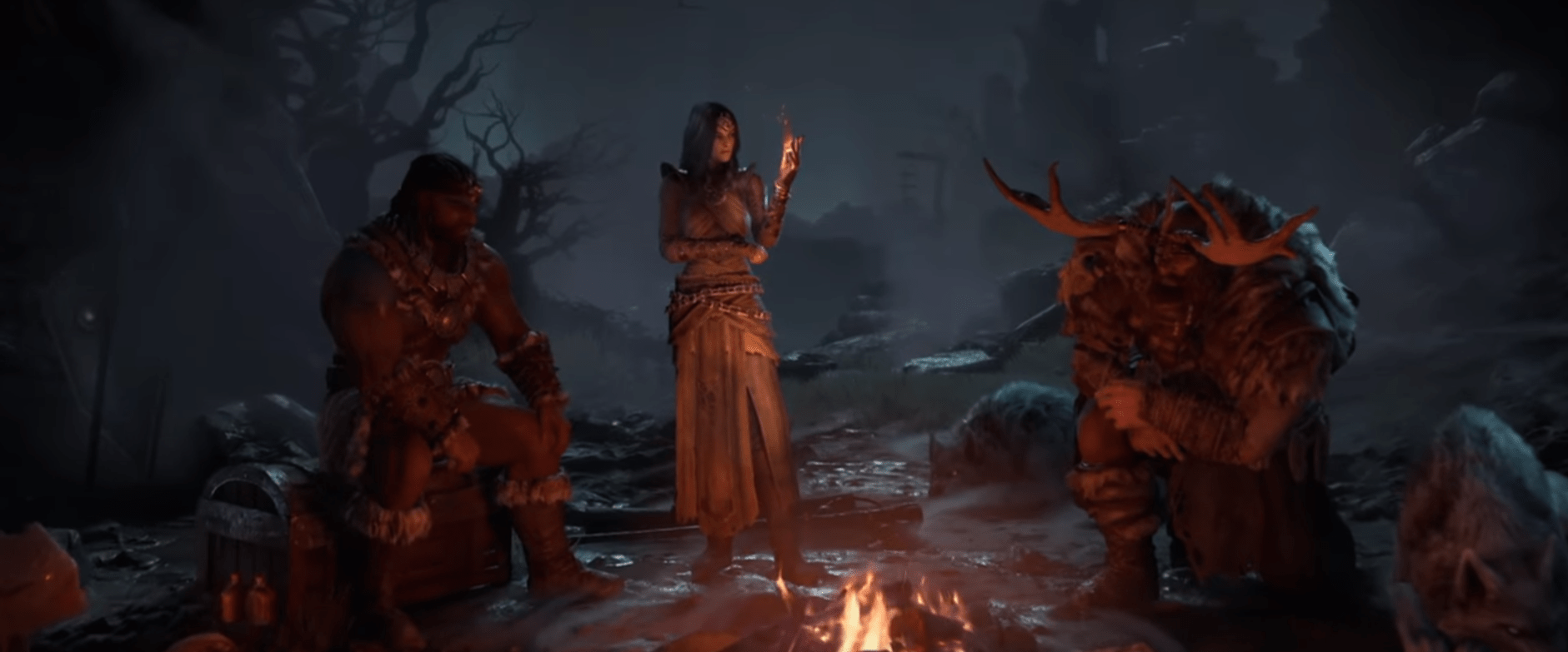 Diablo 4 – A Look At The Three Announced Classes:  Sorceress, Barbarian, And Druid