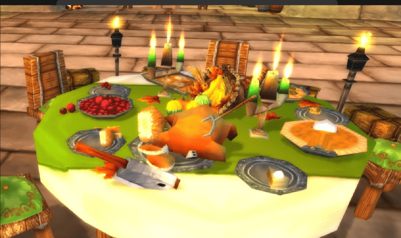 The Perfect Excuse To Overeat Is Here, Pilgrim's Bounty Event Is Back – World Of Warcraft: Battle For Azeroth