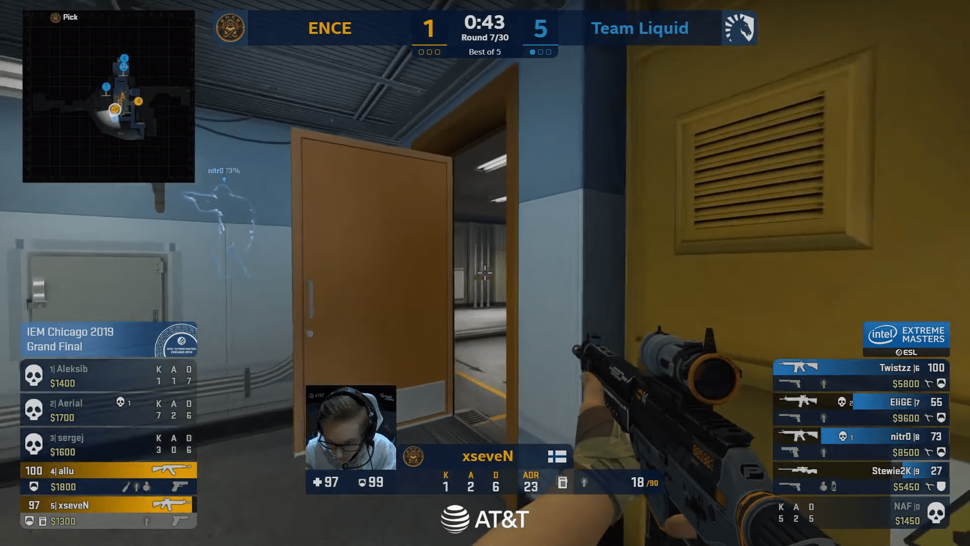 CS:GO – Endpoint Picks Up A Strange Achievement In Professional Play Against MAD Lions At Dreamhack