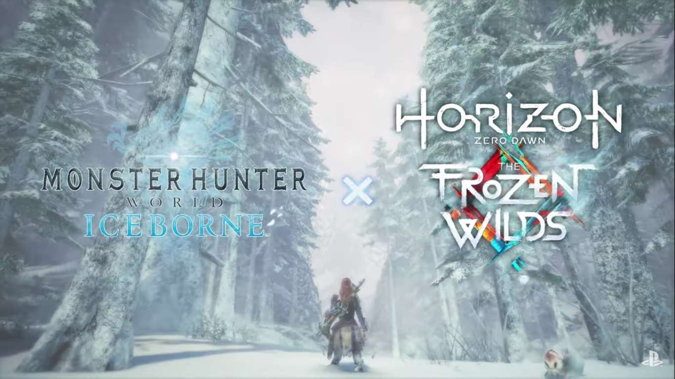 Monster Hunter World: Iceborne Has Received Another Cross Over Event With Horizon Zero Dawn Introducing The Frozen Wilds Gear Storms Set
