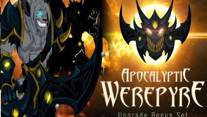 Artix Entertainment Releases Apocalyptic Werepyre Armor Set Into Adventurequest Worlds