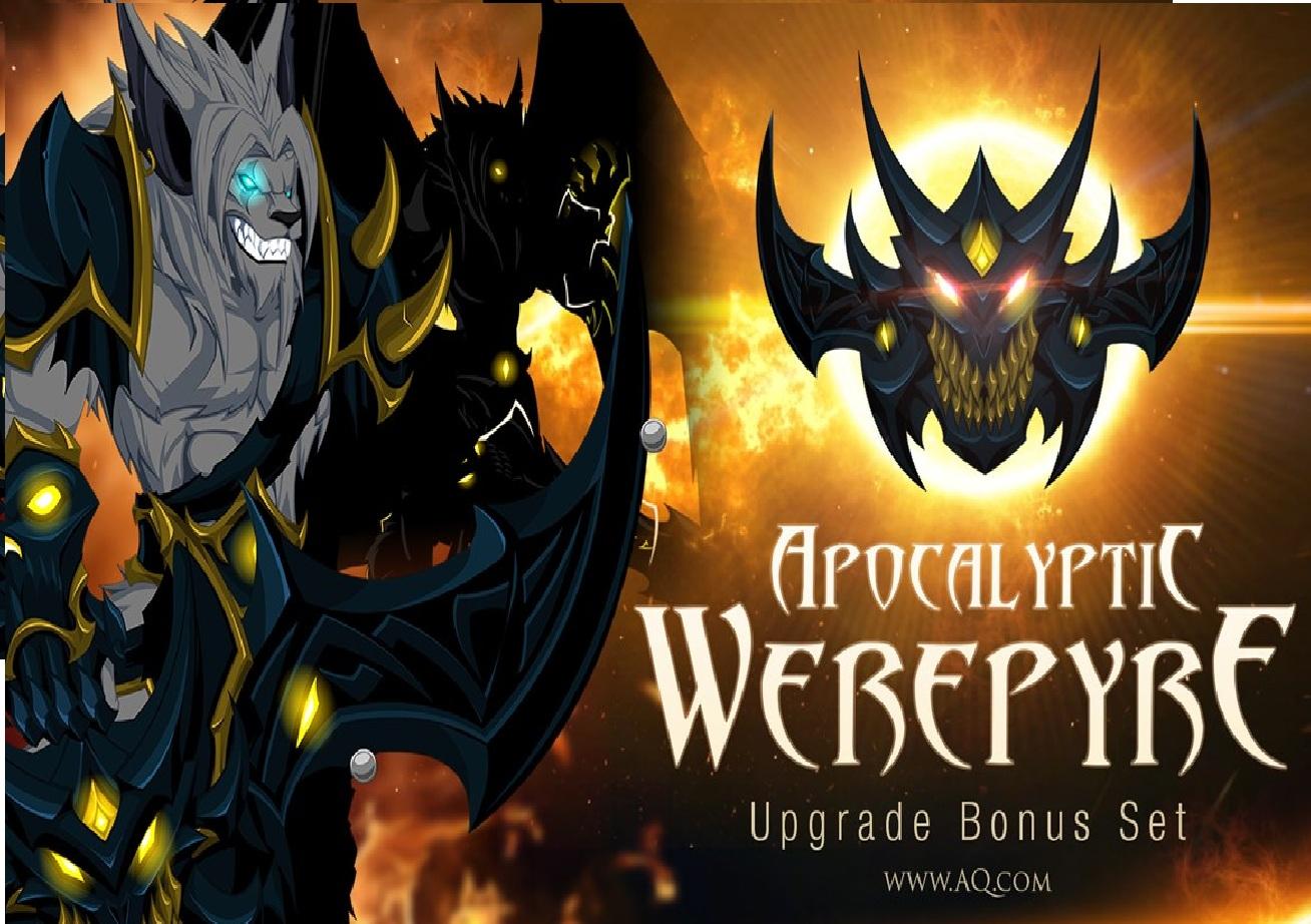 Artix Entertainment Releases Apocalyptic Werepyre Armor Set Into Adventurequest Worlds