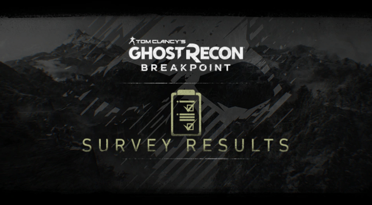 Community Survey Results Are In To Improve Ghost Recon Breakpoint, Players Want More AI Teammates, And New Story Content