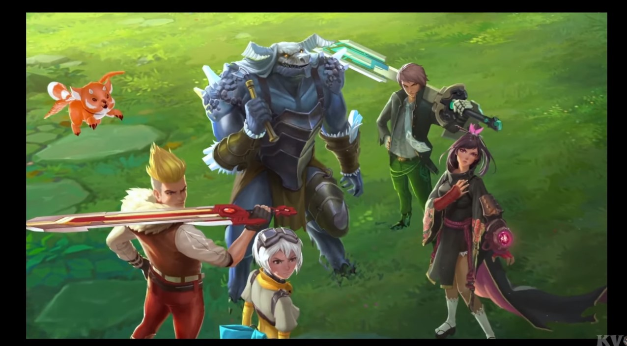 Monster Skull Fortnite Epic Launches Battle Breakers Mobile Game Is Studio S First Title Since Fortnite Happy Gamer