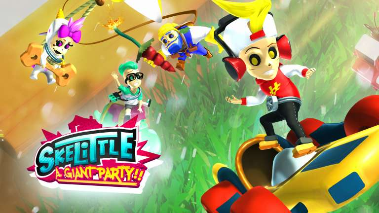 Everyday Scenarios Become Epic In Party Game Skelittle, Coming To Switch