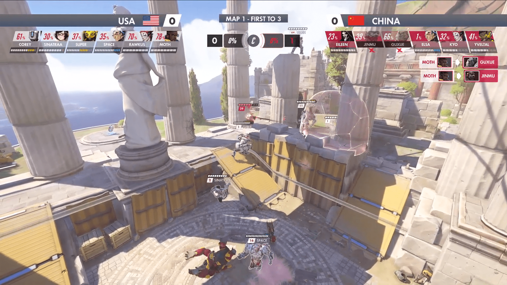 The 2019 Overwatch World Cup Ends With A Dramatic Showdown Between Team USA Versus Team China
