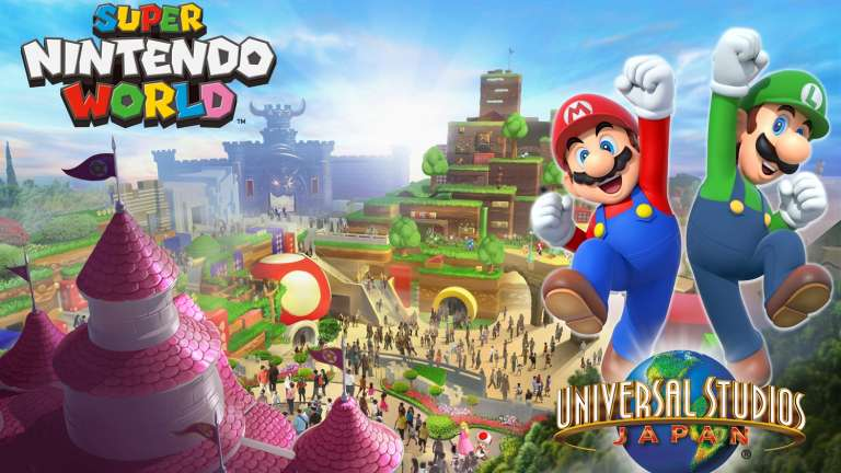 Universal Studios Japan's Super Nintendo World Will Open in February 2021