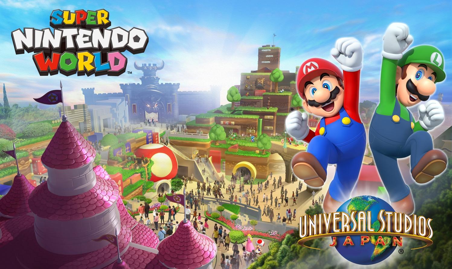 Universal Studios Japan Shows Off New Photo Of Upcoming Super Nintendo World