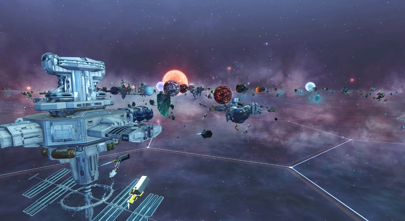 Galactic-Scale RTS Game, Starborne, Brings The Elements Of Empire Building And MMORTS In One Giant Game