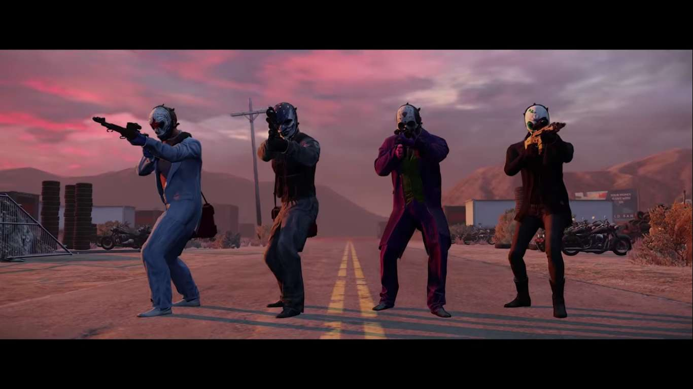 PAYDAY 2 Is Receiving A New DLC After Months Of Silence, Get Ready To Strap In Cause These Clowns Are Crossing The Border