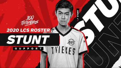 100 Thieves Announces The Promotion Of William 'Stunt' Chen To The Main Roster