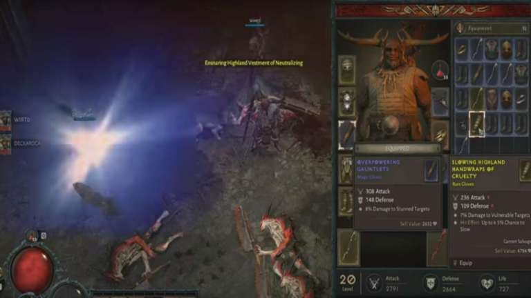 Blizzard Just Released Extended Gameplay Footage Of The Druid Character Class In Diablo 4