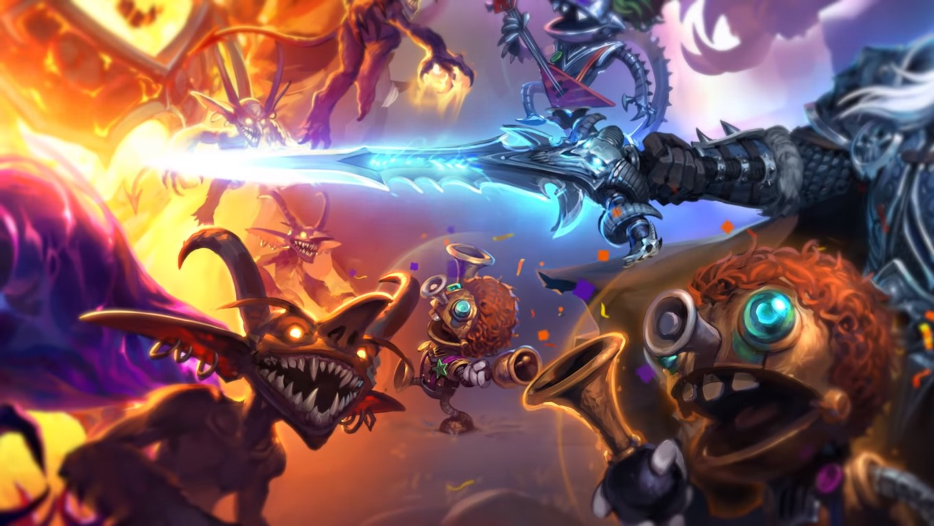 Full Free-To-Play Hearthstone Gameplay Mode Addition, Battlegrounds, Require 30 Card Packs