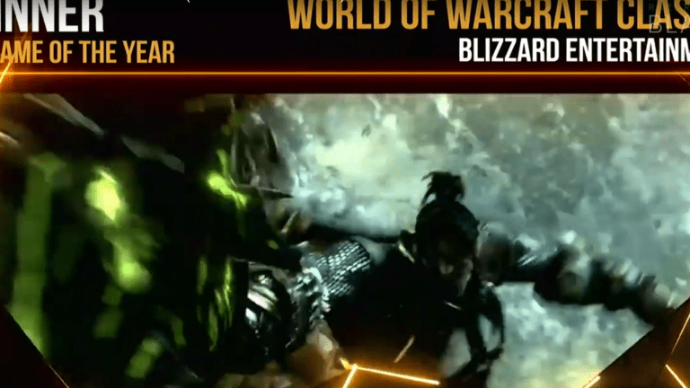 World Of Warcraft: Classic Wins A Golden Joystick As 2019's PC Game Of The Year