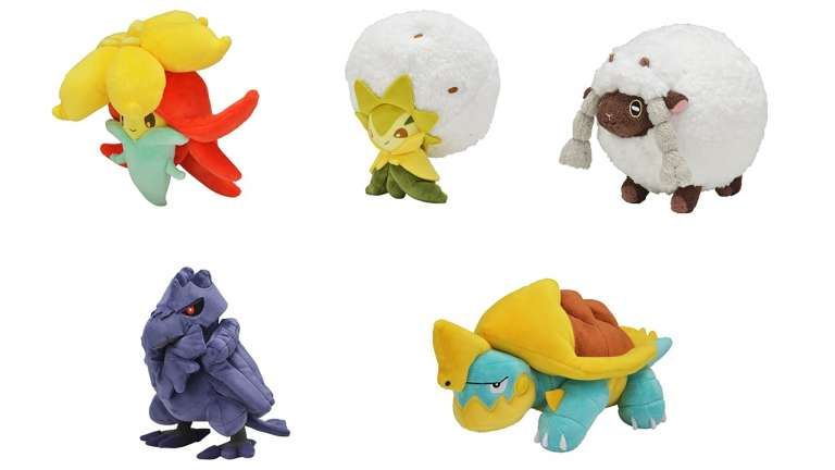 A New Set Of Adorable Pokemon Sword And Shield Plushies Have Been Revealed, These Cute Pokemon Will Go On Sale December 14