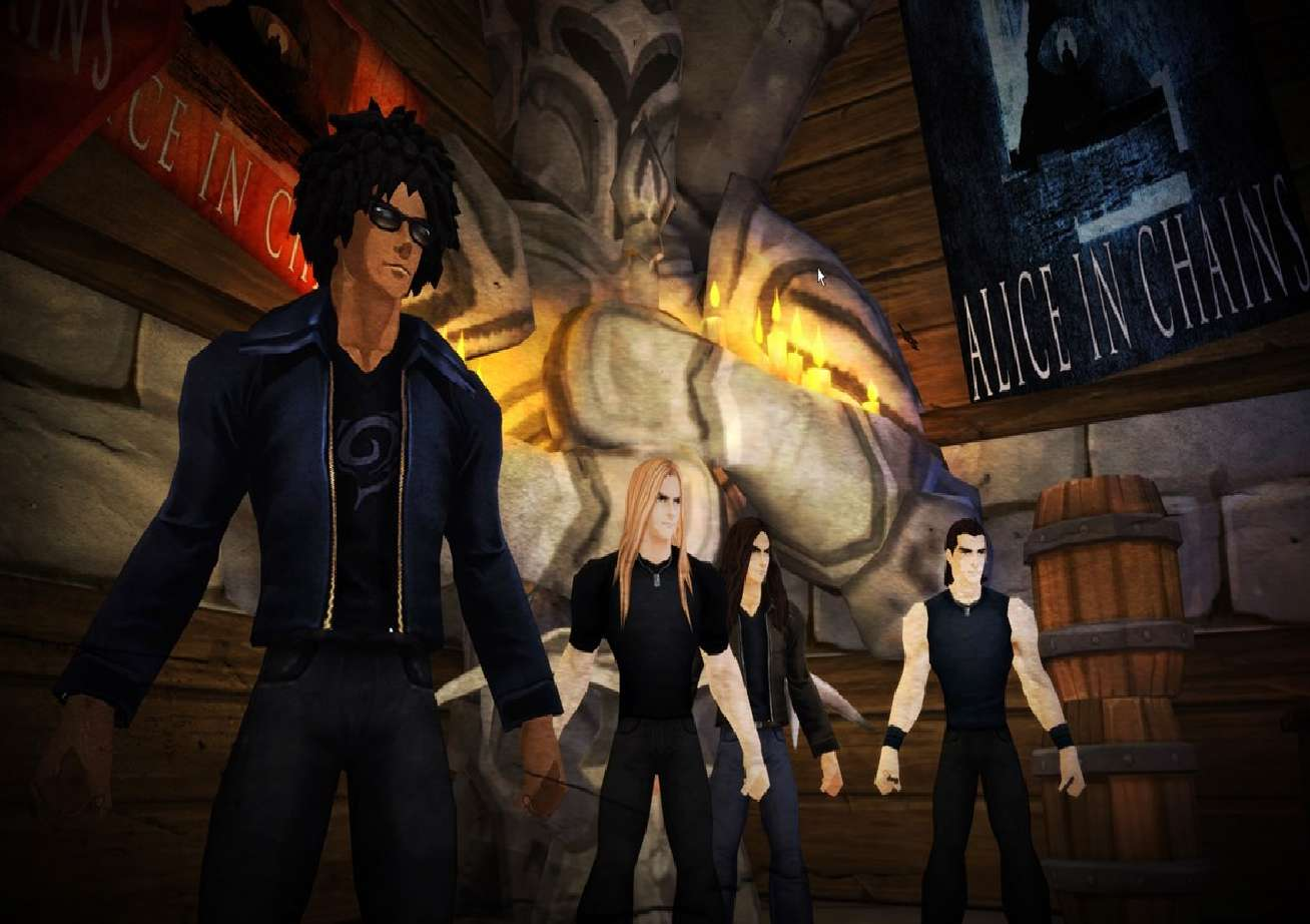 Alice In Chains Coming To AdventureQuest Worlds And AdventureQuest 3D For 3-Week Long Concert