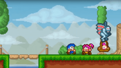 Bloo Kid 2 Is A Retro 2D Platformer Coming To The Nintendo Switch This Month