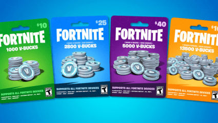 Fortnite V-Bucks Can Now Be Purchased From Retailers Across The US, Other Countries Soon