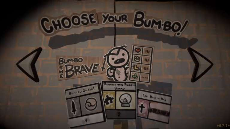 Edmund Mcmillen's Legend Of Bum-Bo Drops Tuesday, Game Offers Over 100 Customizable And Upgradable Items