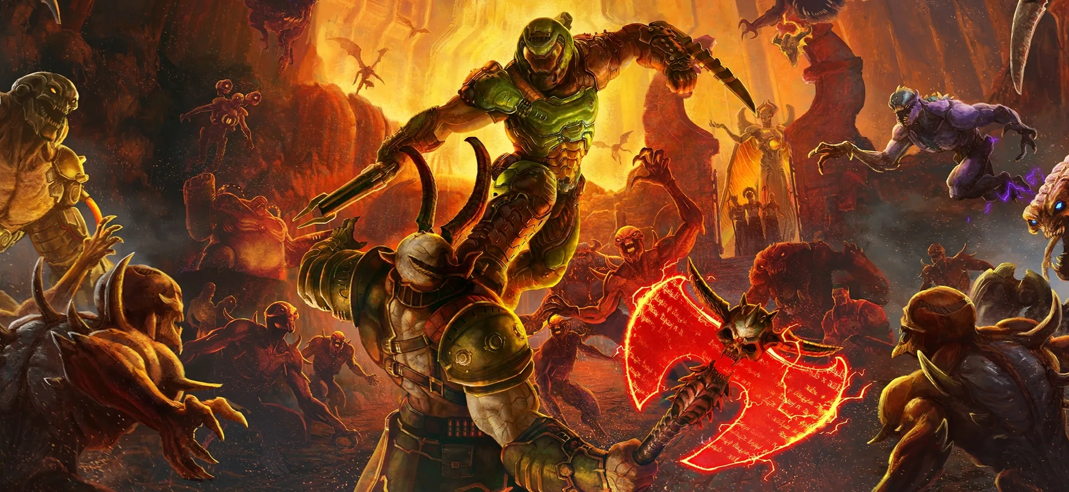 A New DOOM Eternal Trailer Is Set To Drop Tomorrow, Anticipation Builds For This Demon Slaying Heavy Metal Game From Bethesda
