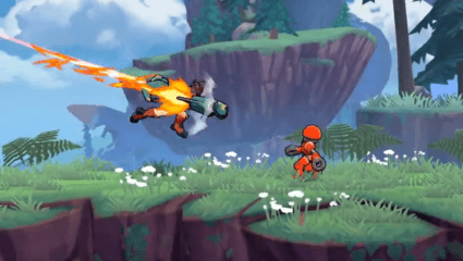 Skybolt Zack – A Fast Paced Platformer - Battle Robots On Nintendo Switch November 7