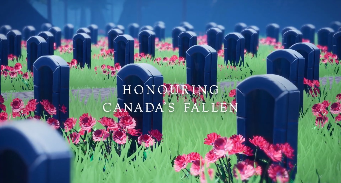 Epic Games Partners With The Royal Canadian Legion To Remember Canada's Fallen Heroes