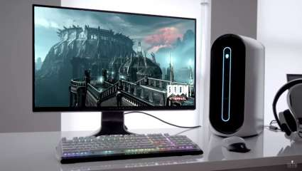 Alienware 34-Inch Gaming WQHD Monitor Features 120Hz Refresh Rate And Tear-Free Tech