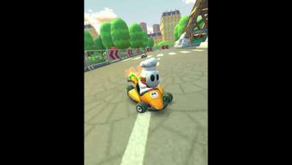 Mario Kart Travels To A New Distant Land Leaving Japan And Entering The City Of Lights In Their New Paris Tour