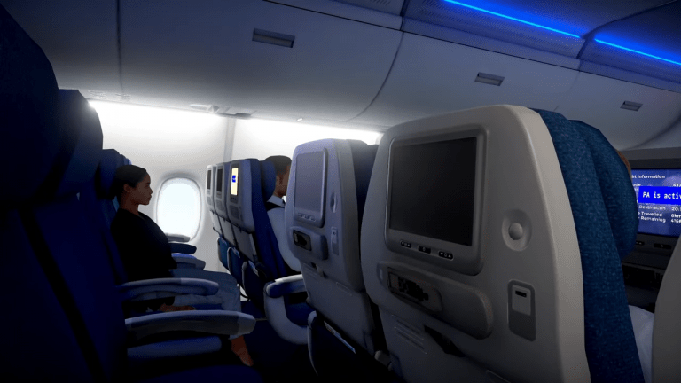Experience A Full In-Flight Experience From The Comfort Of Your Couch In Airplane Mode