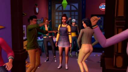 The Sims 4 Gets Hyper-Realistic With Discover University Drowning Your Sim With Student's Loan