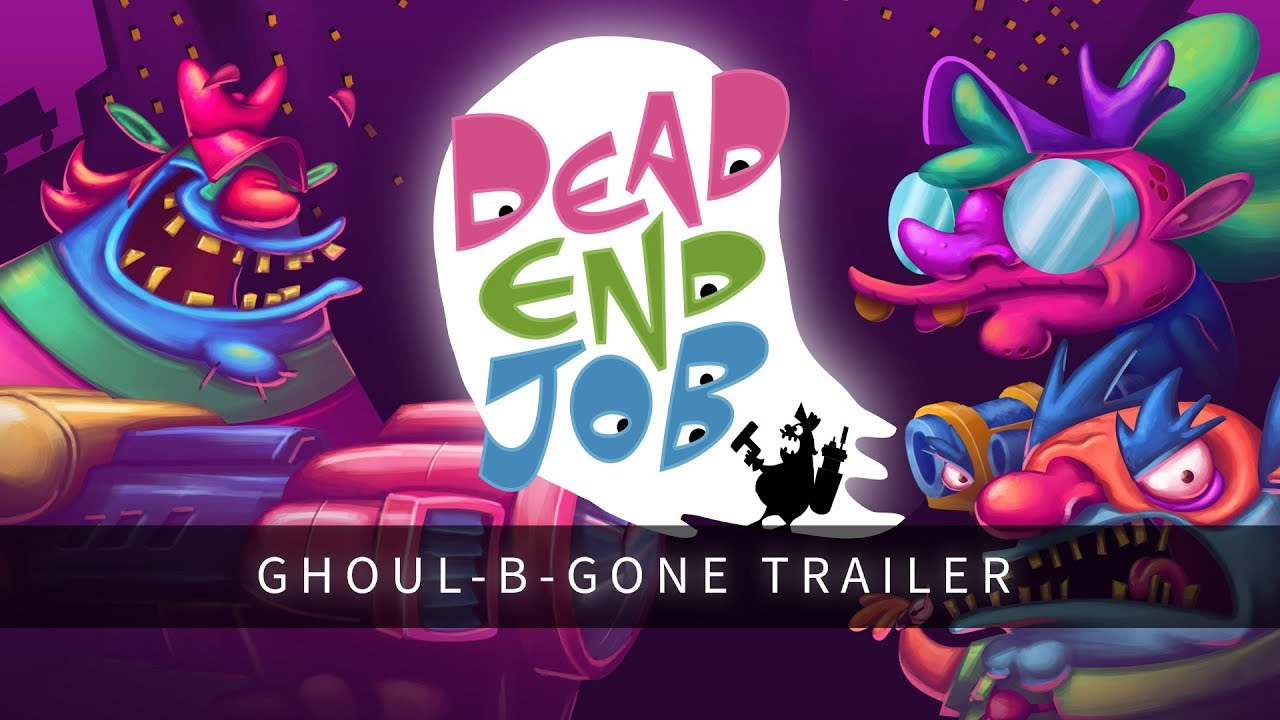 A New Take On Ghostbusting Arrives In Dead End Job Coming To Nintendo Switch
