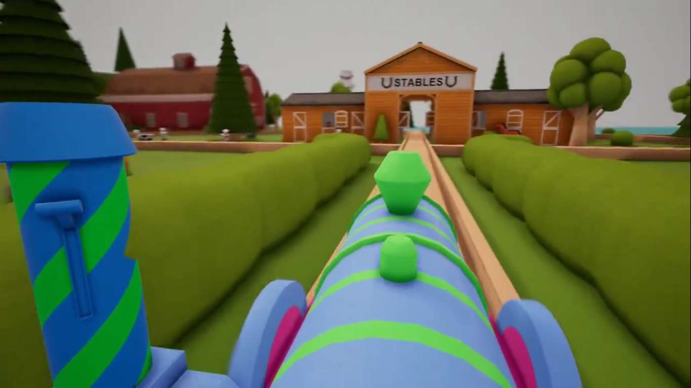A New Game Revolving Around Trains Is Set To Be Release On Console November 14, Create Adorable Toy Scenes In A Digital Living Room