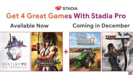 Google Adds Two More Games To Stadia Pro Subscription For Free This December