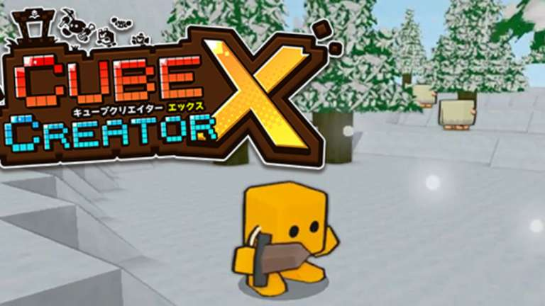 Enter A Cutesy Cuboid World Of Limitless Possibility In Cube Creator X, Coming Soon To Nintendo Switch