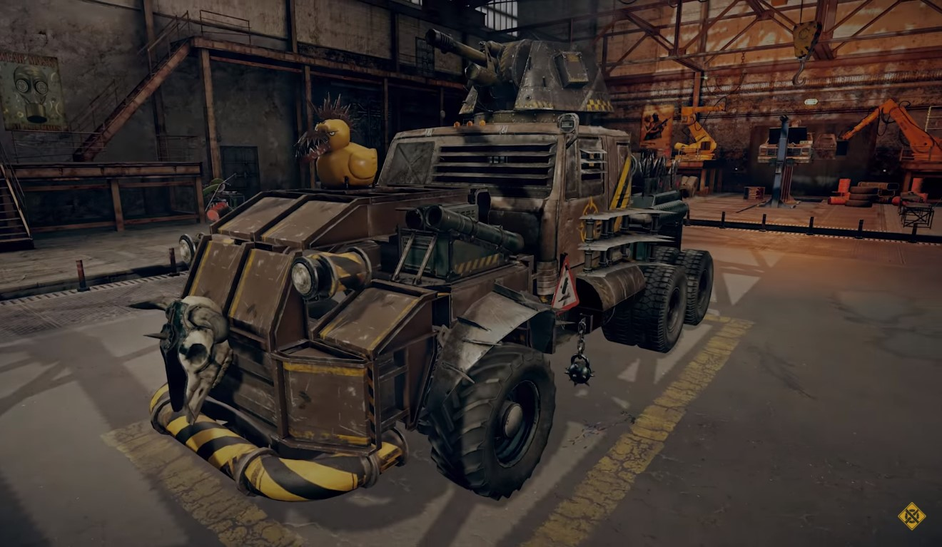 Vehicle-Based Combat Game, Crossout, Is Giving Away 500 Armoured Pumpkin Packs