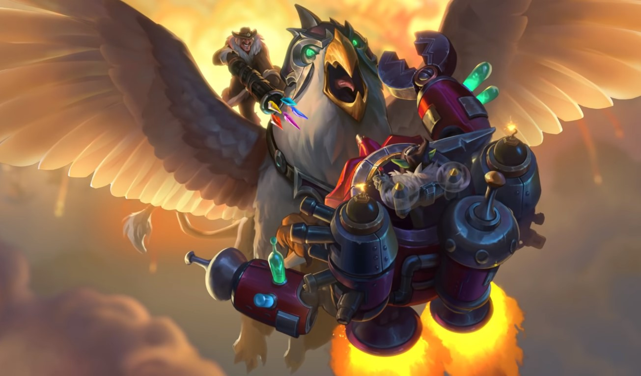 A New Card Revealed For Hearthstone's Upcoming Expansion Descent Of Dragons