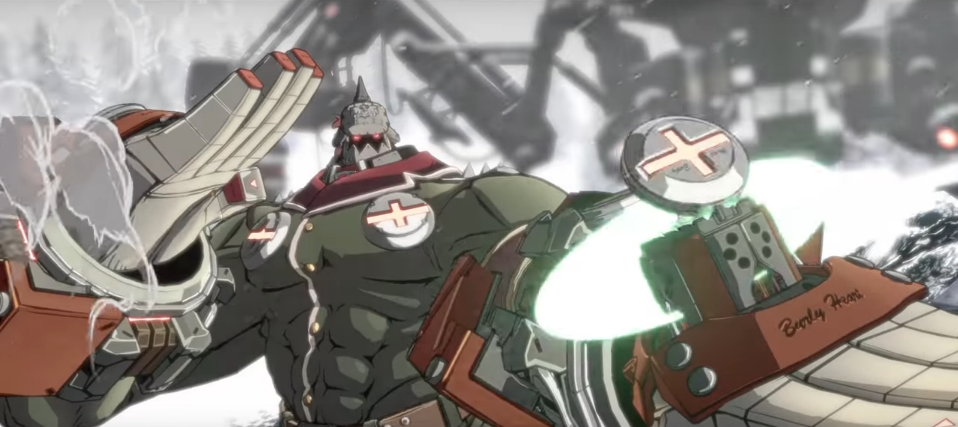 The Developers Behind The Heavy Metal Guilty Gear Strive Fighting Game Announce The Return Of The Crazy Faust Character